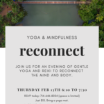 Yoga and Reiki Reconnect